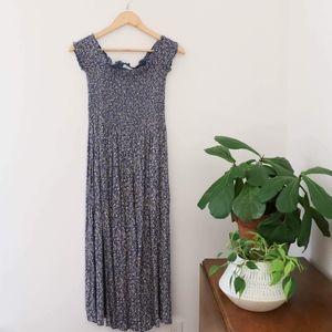 Kimchi Blue Off-the-Shoulder Smocked Picnic Dress